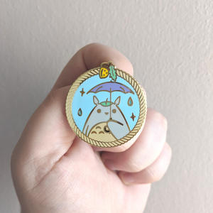 Forest Spirit Enamel Pin