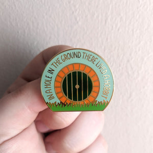 Home In The Ground Enamel Pin
