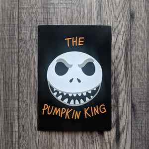 King of Pumpkins Postcard