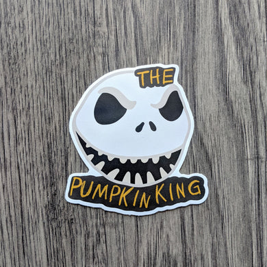 King of Pumpkins Sticker