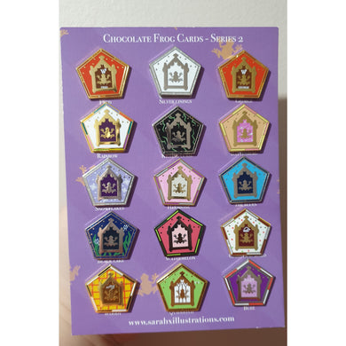 SERIES 2 Chocolate Frog Card Blind Bags Enamel Pins