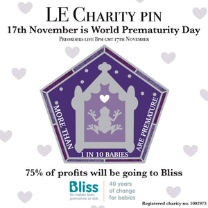 PREORDER Bliss Charity Card Pin