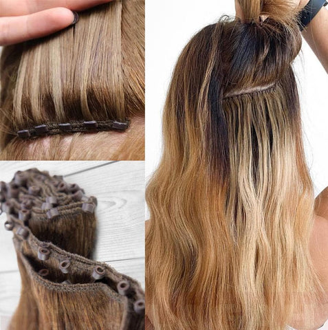 Beaded Hair Wefts