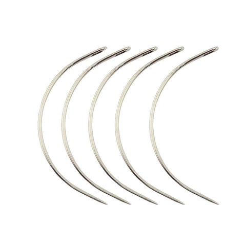 10 pieces of C Type / Curve Weaving Needle ,Weaving Curved Needles Pins - LAGAH Hair Products