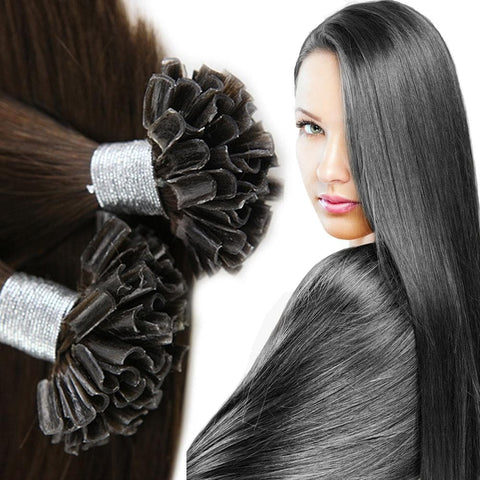 LAGAH Premium, U - Tips Hair Extensions ( 25 Strands ) - LAGAH Hair Products