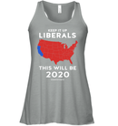 Apparel Bella Women's Flowy Tank / Athletic Heather / S Keep It Up Liberals PL002
