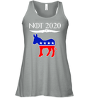 Apparel Bella Women's Flowy Tank / Athletic Heather / S Not Today Trump For 2020 PL004