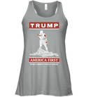 Apparel Bella Women's Flowy Tank / Athletic Heather / S Trump America First PT170502