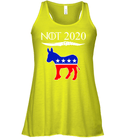 Apparel Bella Women's Flowy Tank / Neon Yellow / S Not Today Trump For 2020 PL004