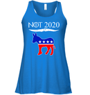 Apparel Bella Women's Flowy Tank / True Royal / S Not Today Trump For 2020 PL004