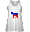 Apparel Bella Women's Flowy Tank / White / S Not Today Trump For 2020 PL004
