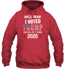 Apparel Unisex Heavyweight Pullover Hoodie / Cardinal Red / S I Voted Trump 2020 PT170501