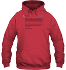 Apparel Unisex Heavyweight Pullover Hoodie / Cardinal Red / S Trump Quote Twitter PT170504