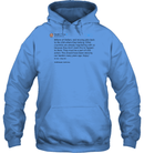 Apparel Unisex Heavyweight Pullover Hoodie / Carolina Blue / S Trump Quote Twitter PT170504