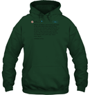 Apparel Unisex Heavyweight Pullover Hoodie / Forest Green / S Trump Quote Twitter PT170504
