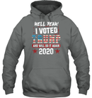 Apparel Unisex Heavyweight Pullover Hoodie / Graphite Heather / S I Voted Trump 2020 PT170501