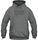 Apparel Unisex Heavyweight Pullover Hoodie / Graphite Heather / S Trump Quote Twitter PT170504