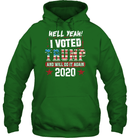 Apparel Unisex Heavyweight Pullover Hoodie / Irish Green / S I Voted Trump 2020 PT170501