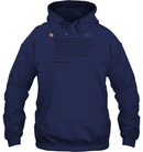 Apparel Unisex Heavyweight Pullover Hoodie / Navy / S Trump Quote Twitter PT170504