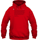 Apparel Unisex Heavyweight Pullover Hoodie / Red / S Trump Quote Twitter PT170504