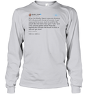 Apparel Unisex Long Sleeve Classic Tee / Ash Grey / S Support Trump Twitter PL006