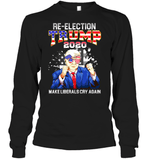 Apparel Unisex Long Sleeve Classic Tee / Black / S Re Election Trump 2020 PT170503