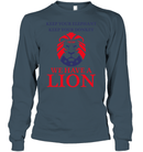 Apparel Unisex Long Sleeve Classic Tee / Dark Heather / S Trump We Have A Lion PL005