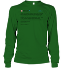 Apparel Unisex Long Sleeve Classic Tee / Irish Green / S Support Trump Twitter PL006