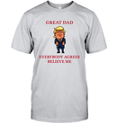 Apparel Unisex Short Sleeve Classic Tee / Ash / S Great Dad Trump 2020 PL 001