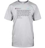 Apparel Unisex Short Sleeve Classic Tee / Ash / S Trump Quote Twitter PT170504