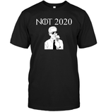 Apparel Unisex Short Sleeve Classic Tee / Black / S Not 2020 Biden PL003