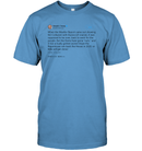 Apparel Unisex Short Sleeve Classic Tee / Carolina Blue / S Support Trump Twitter PL006