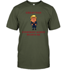 Apparel Unisex Short Sleeve Classic Tee / Fatigue Green / S Great Dad Trump 2020 PL 001