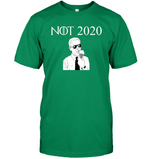 Apparel Unisex Short Sleeve Classic Tee / Kelly Green / S Not 2020 Biden PL003