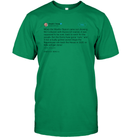 Apparel Unisex Short Sleeve Classic Tee / Kelly Green / S Support Trump Twitter PL006