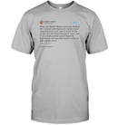 Apparel Unisex Short Sleeve Classic Tee / Light Steel / S Support Trump Twitter PL006