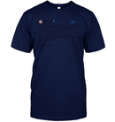 Apparel Unisex Short Sleeve Classic Tee / Navy / S Support Trump Twitter PL006