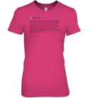 Apparel Womens Relaxed Fit Tee / Wow Pink / S Support Trump Twitter PL006