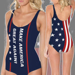 Bikini S / Bikini Maga- Keep American Great Again- Donald Trump 2020 Summer Bikini