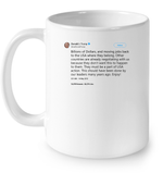 Drinkware 11oz Ceramic Mug / White Trump Quote Twitter PT170504