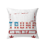 Pillows Indoor Pillow 16 x 16 / White I Voted Trump 2020 PT170501