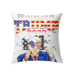 Pillows Indoor Pillow 16 x 16 / White Re Election Trump 2020 PT170503