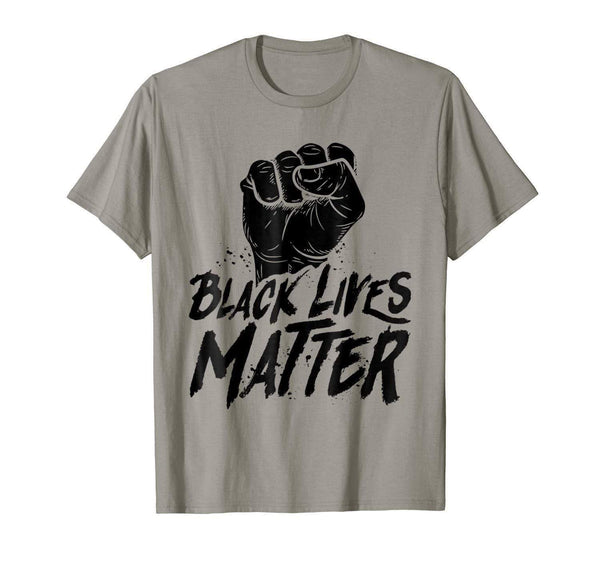T-shirt S Black Lives Matter Political Protest Fist Equality T Shirt