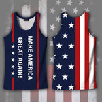 Tank Top S / Tank Top Maga- Keep American Great Again- Donald Trump 2020 Tank Top
