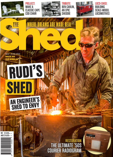 The Shed magazine subscription options