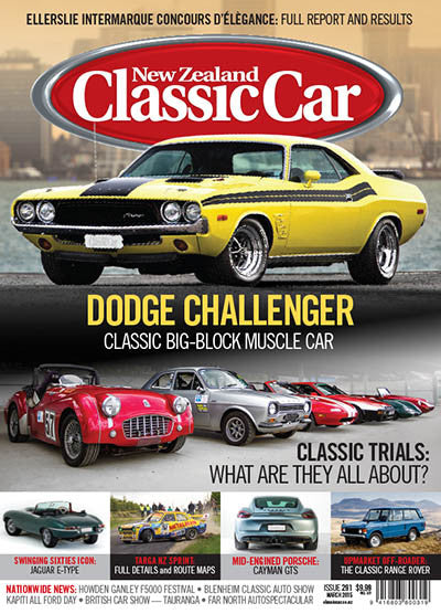New Zealand Classic Car 291, March 2015