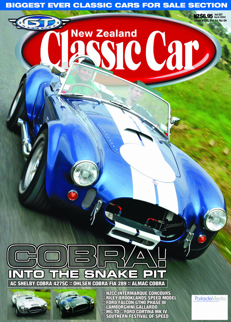 New Zealand Classic Car 160, April 2004