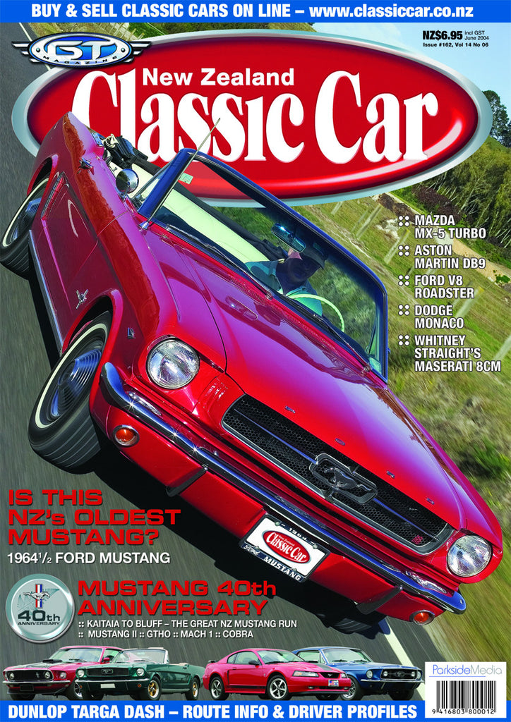 New Zealand Classic Car 162, June 2004