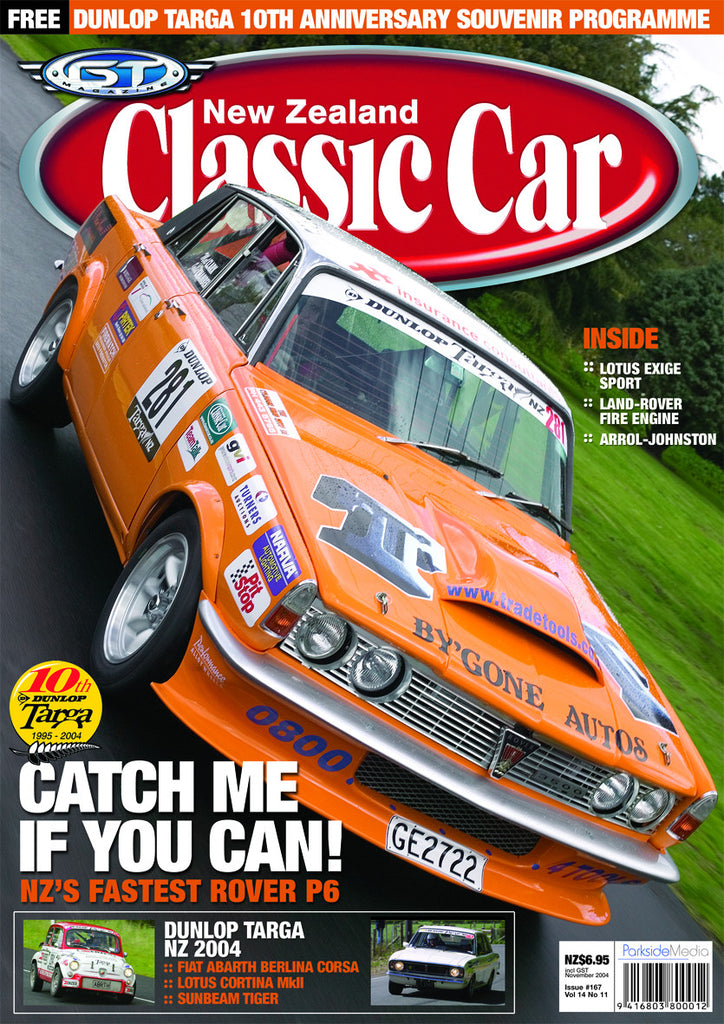 New Zealand Classic Car 167, November 2004