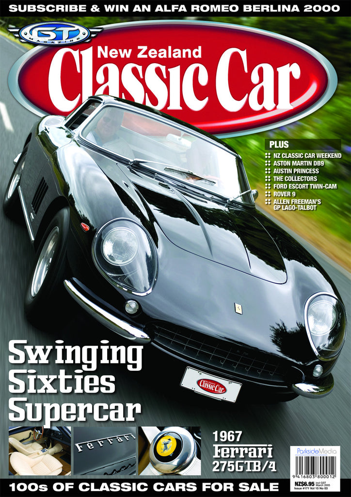 New Zealand Classic Car 171, March 2005